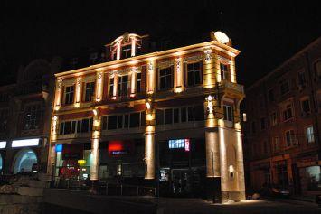 Площад джумаята / Dzhumaya square nightly