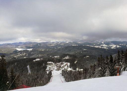 ski slope pamporovo
