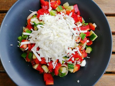 Shopska salad /шопска салата