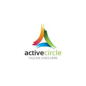 Activecircle Vector Logo Template