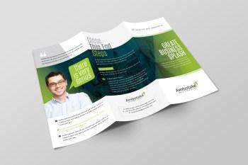 Apollo Corporate Tri-Fold Brochure Template