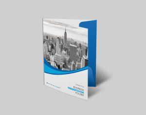 Business Presentation Folder