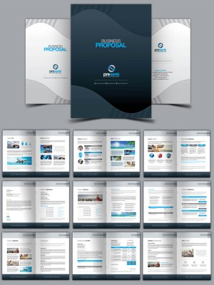 Present Corporate Identity Brand Pack