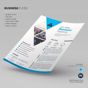 Print Ready Corporate Flyer