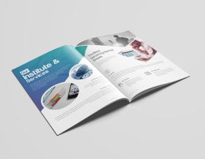 16 Pages Uranus Elegant Corporate Brochure Template