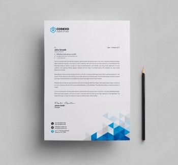 Valkyrie Professional Corporate Letterhead Template