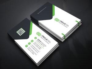 Versatile Business Card Template Green