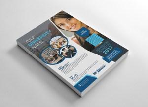 University Print Flyer Templates