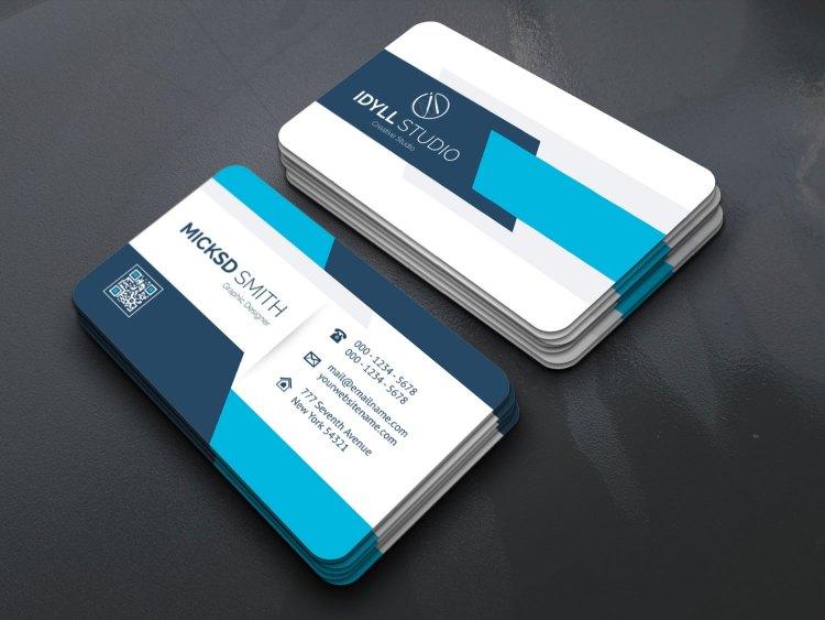EPS Stylish Name Card Templates