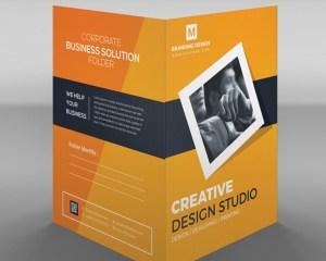EPS Folder Design Template