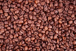 Coffee macro photo