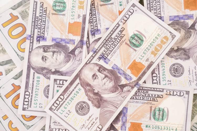 New Hundred Dollar Background