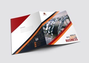 Stripe Presentation Folders