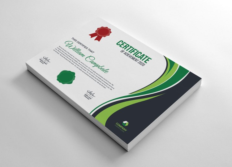 Modern Achievement Certificate Template