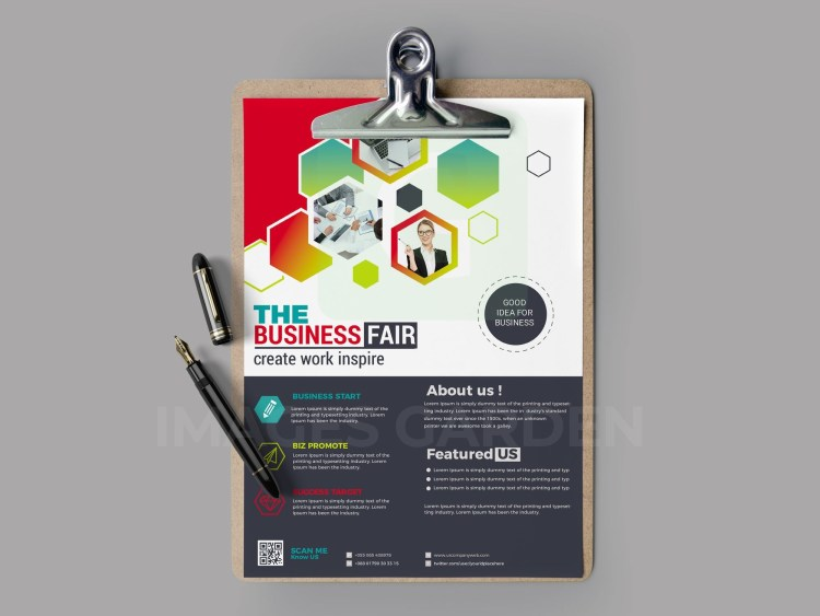 PSD Technology Flyer Design