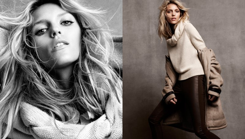 anja hm5 Anja Rubik for H&Ms Winter 2011 Collection