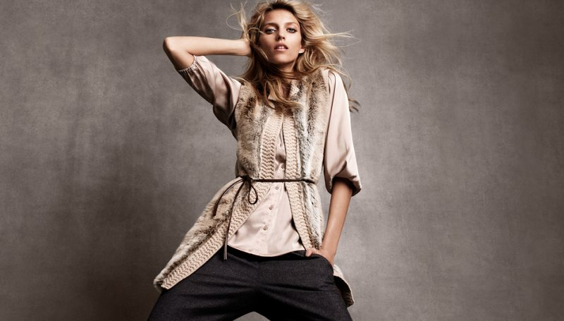 anja hm6 Anja Rubik for H&Ms Winter 2011 Collection