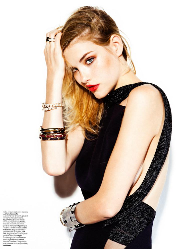ashley smith5 Ashley Smith by Hicham Riad for <em>Elle Belgium</em> December 2011