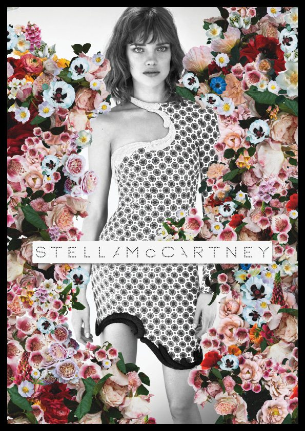 stella mccartney3 Natalia Vodianova for Stella McCartney Spring 2012 Campaign by Mert & Marcus