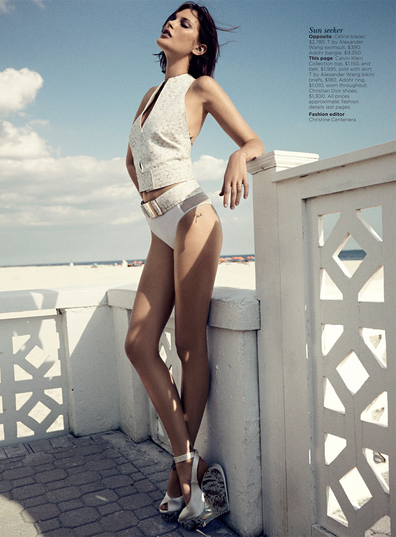 catherine mcneil2 Catherine McNeil Stays Cool for Vogue Australias November 2012 Cover Shoot by Benny Horne