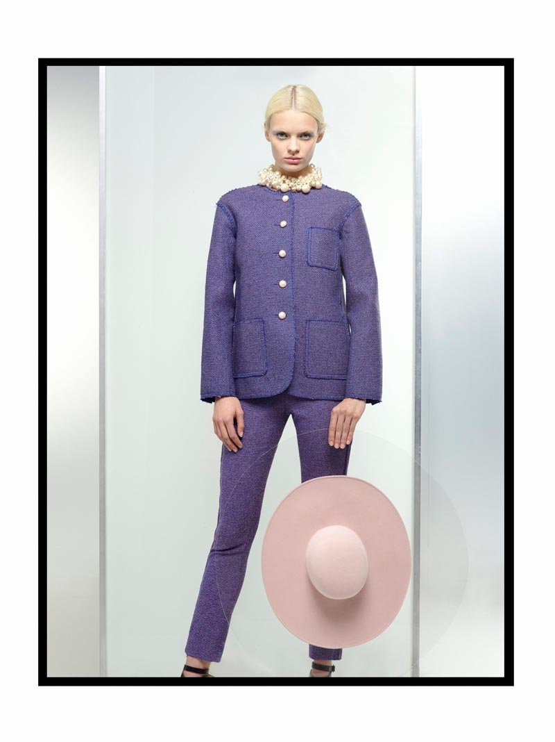 chanel5 Chanel Spring 2013 Lookbook by Karl Lagerfeld