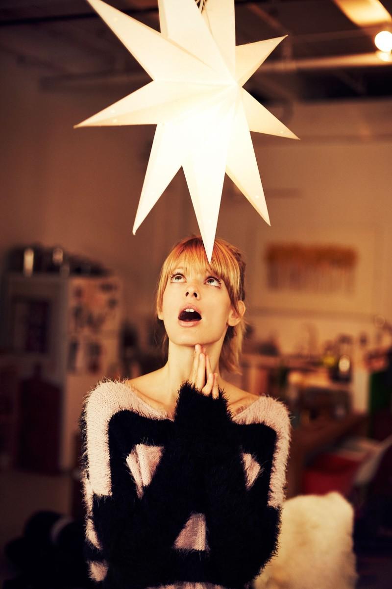 julia stegner11 Julia Stegner Lights Up Reserveds Fall 2012 Campaign