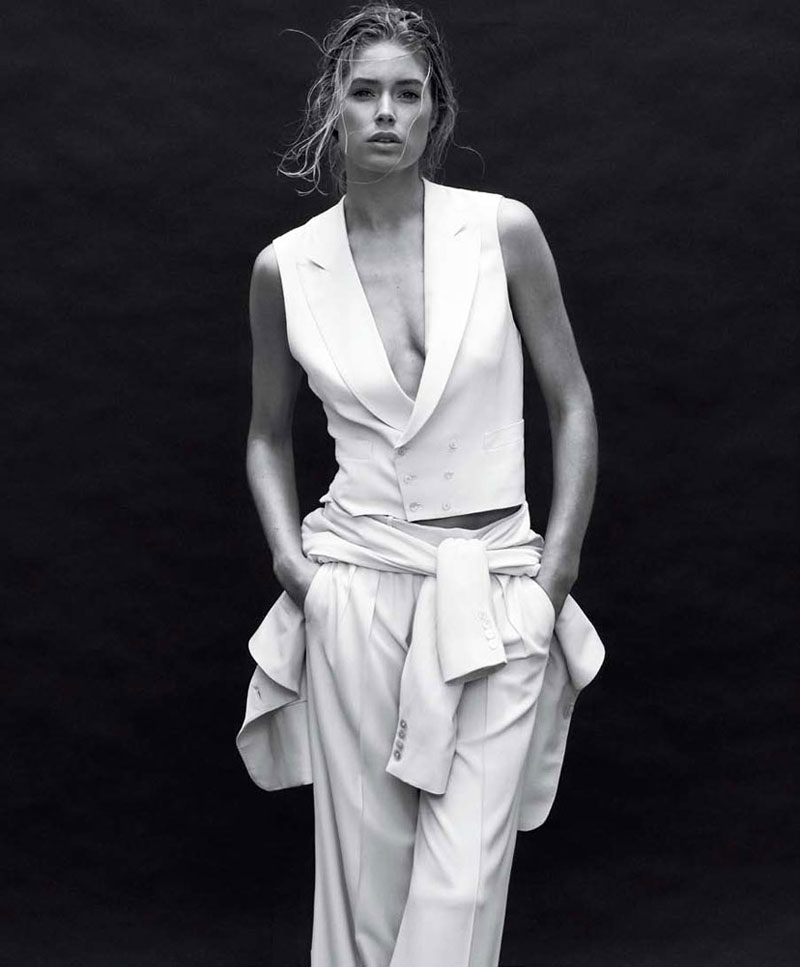 doutzen kroes4 Doutzen Kroes by Daniel Jackson for <em>Harpers Bazaar US</em> March 2012