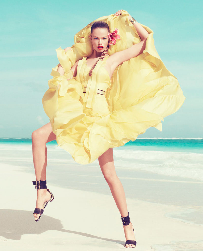 hailey clauson7 Hailey Clauson by Paola Kudacki for <em>Harpers Bazaar US</em> March 2012