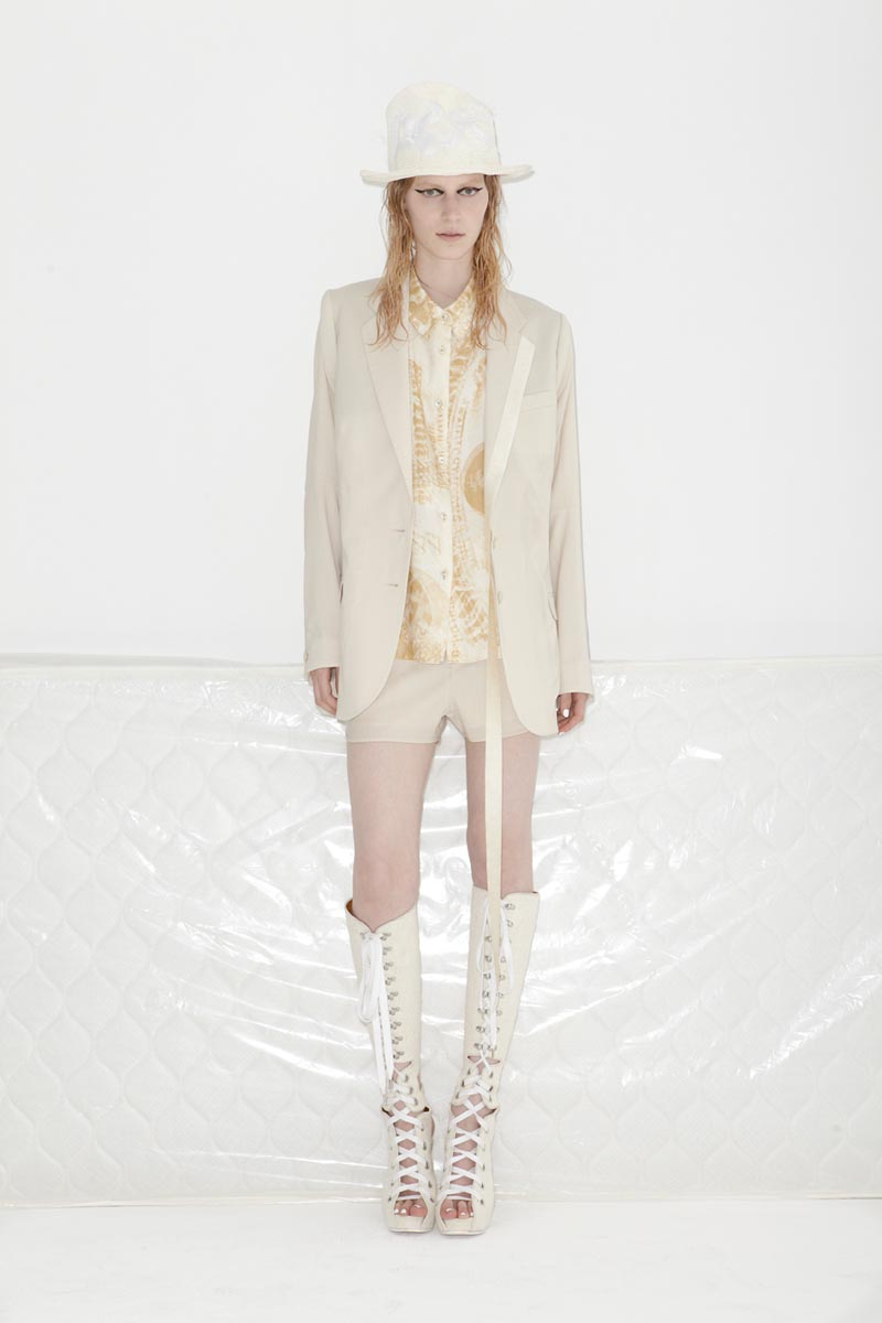 acne4 Acnes Resort 2013 Collection Offers Currency as Prints