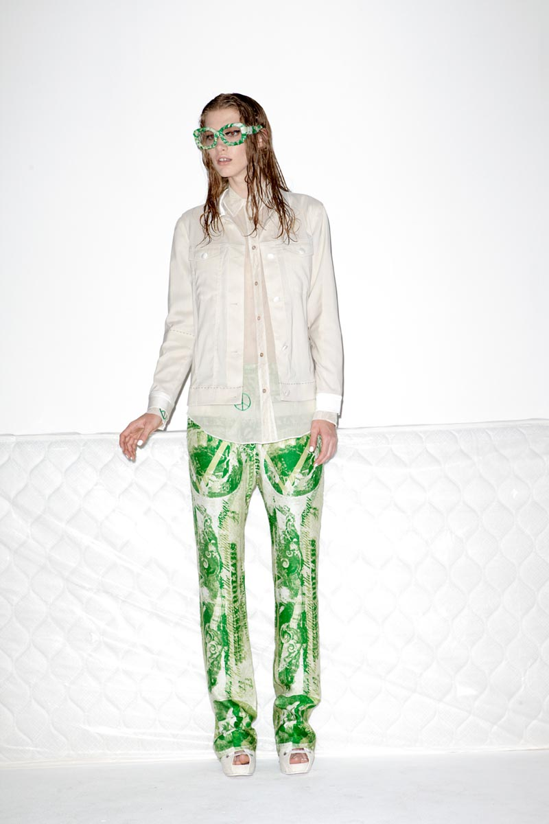 acne5 Acnes Resort 2013 Collection Offers Currency as Prints