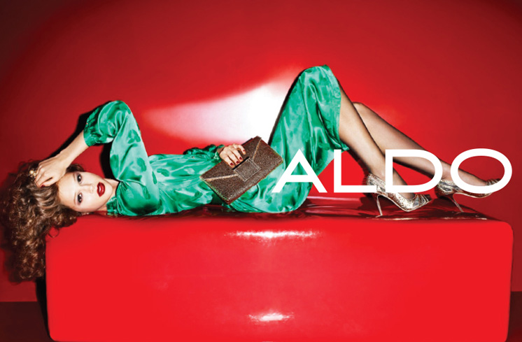 aldo10 Aldo Enlists Anais Pouliot for its Fall and Holiday 2012 Campaigns by Terry Richardson