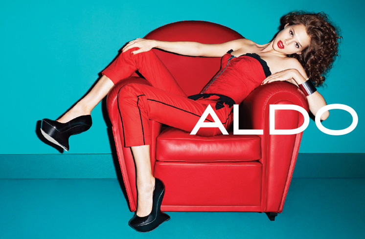 aldo2 Aldo Enlists Anais Pouliot for its Fall and Holiday 2012 Campaigns by Terry Richardson
