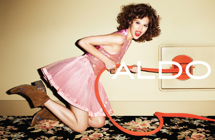 aldo4 Aldo Enlists Anais Pouliot for its Fall and Holiday 2012 Campaigns by Terry Richardson