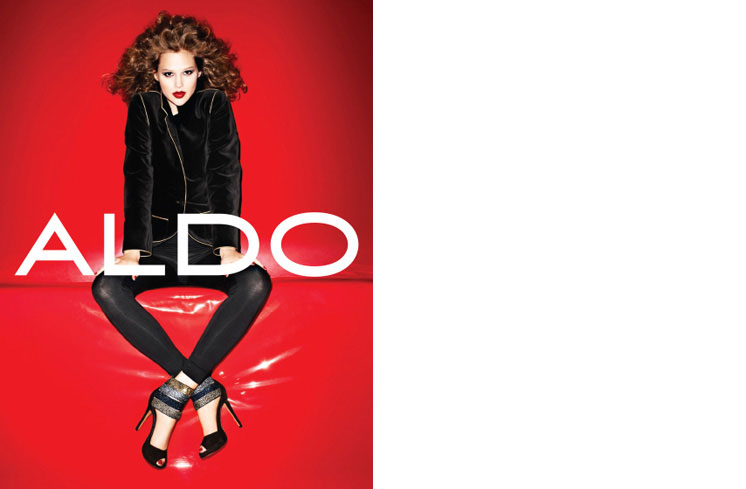 aldo8 Aldo Enlists Anais Pouliot for its Fall and Holiday 2012 Campaigns by Terry Richardson