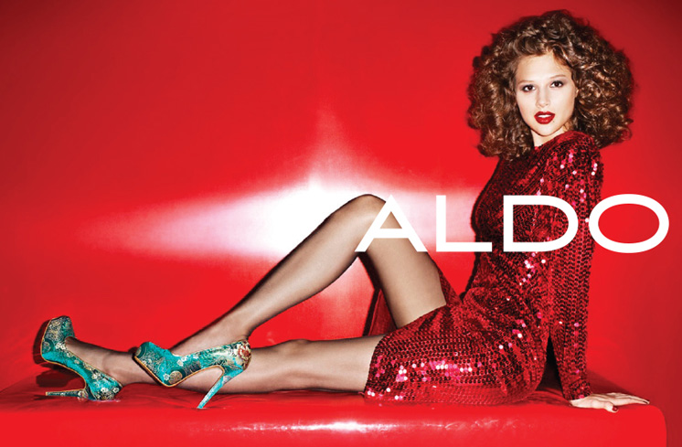 aldo9 Aldo Enlists Anais Pouliot for its Fall and Holiday 2012 Campaigns by Terry Richardson