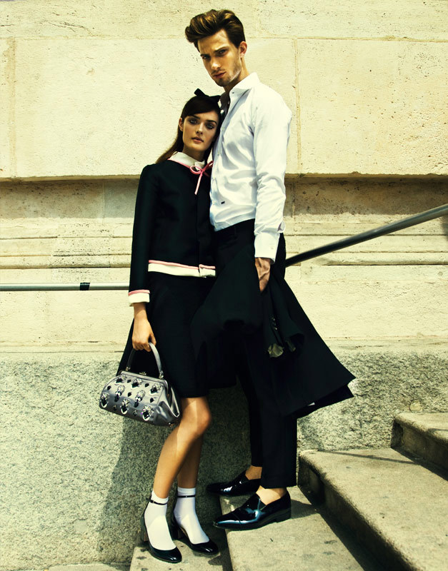 ElleUkraine09 Nikolay Biryukov Photographs a Love Story for Elle Ukraine September 2012