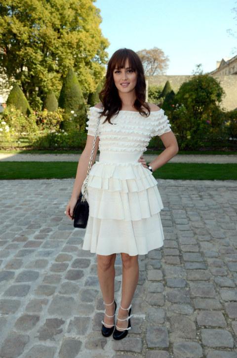 Leighton2 Leighton Meester in Christian Dior