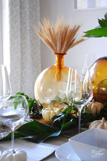 Thanksgiving, table setting, tablescape, Fall, Autumn, Rustic