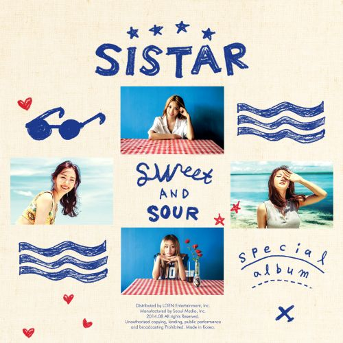 [Mini Album] SISTAR   Special Album SWEET & SOUR (MP3)