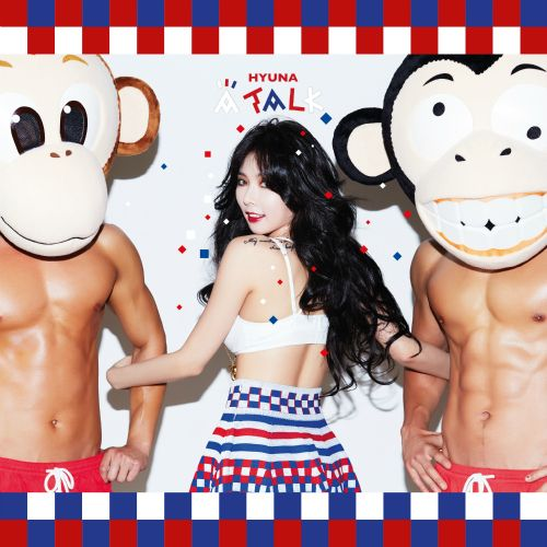 [Mini Album] HyunA (4Minute)   A Talk [3rd Mini Album] (MP3)