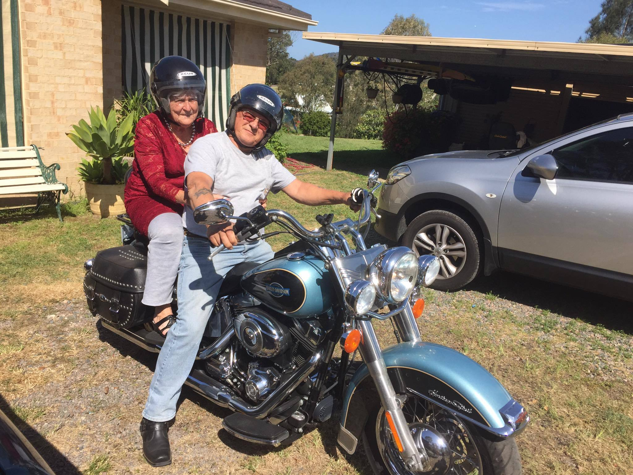 A Harley-riding 90-year-old's perspective on life
