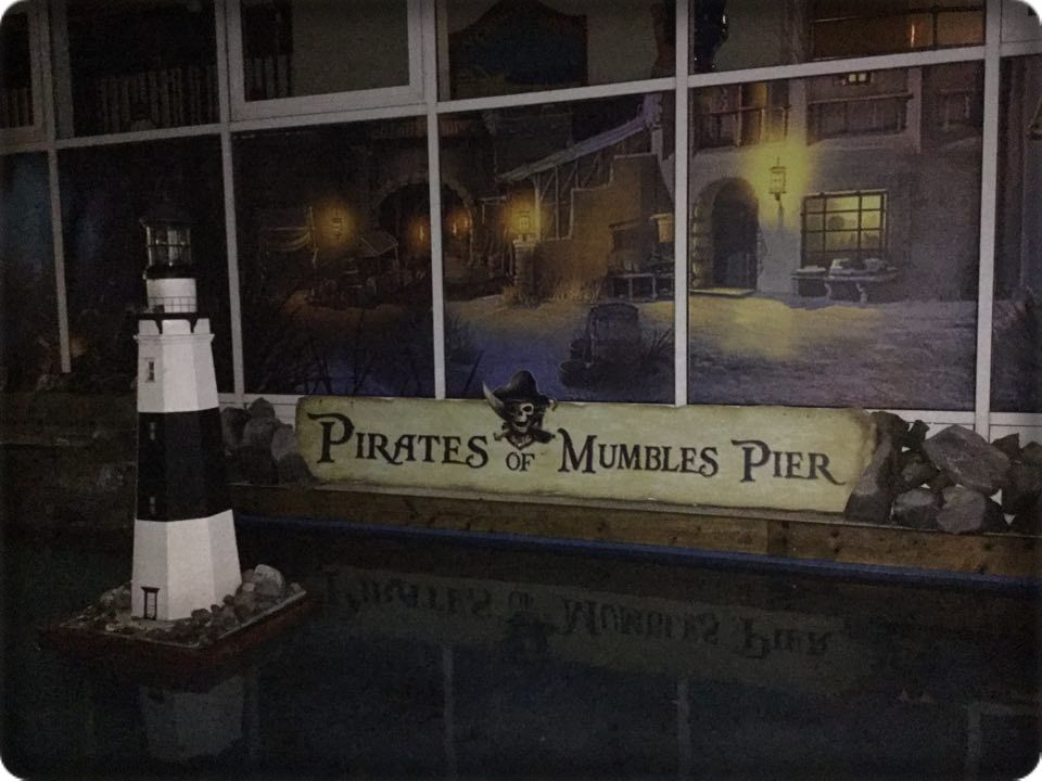 Pirates of Mumbles Pier sign