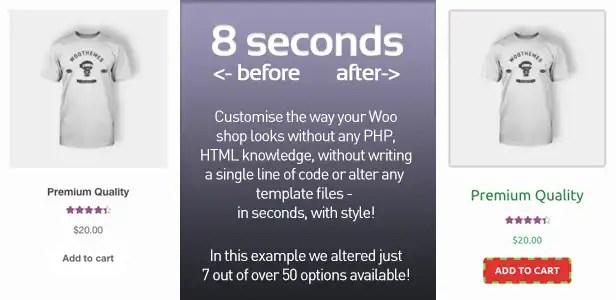 PimpMyWoo - WooCommerce Styler / Customizer WordPress Plugin