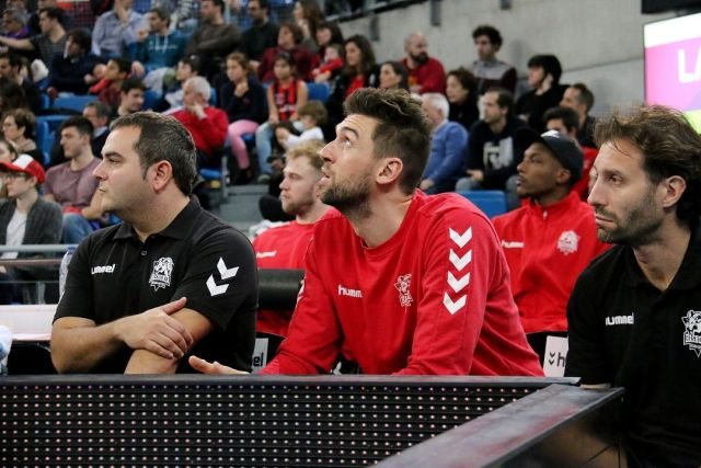 Andrea Bargnani ha assistito alla vittoria dei suoi dalla panchina (Foto: ACB Photo/E. Otxoa)