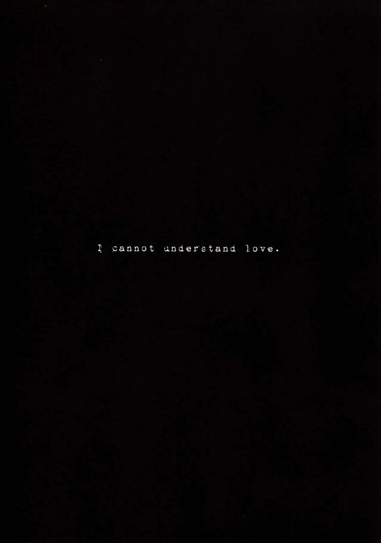 Hình ảnh  trong bài viết I Cannot Understand Love