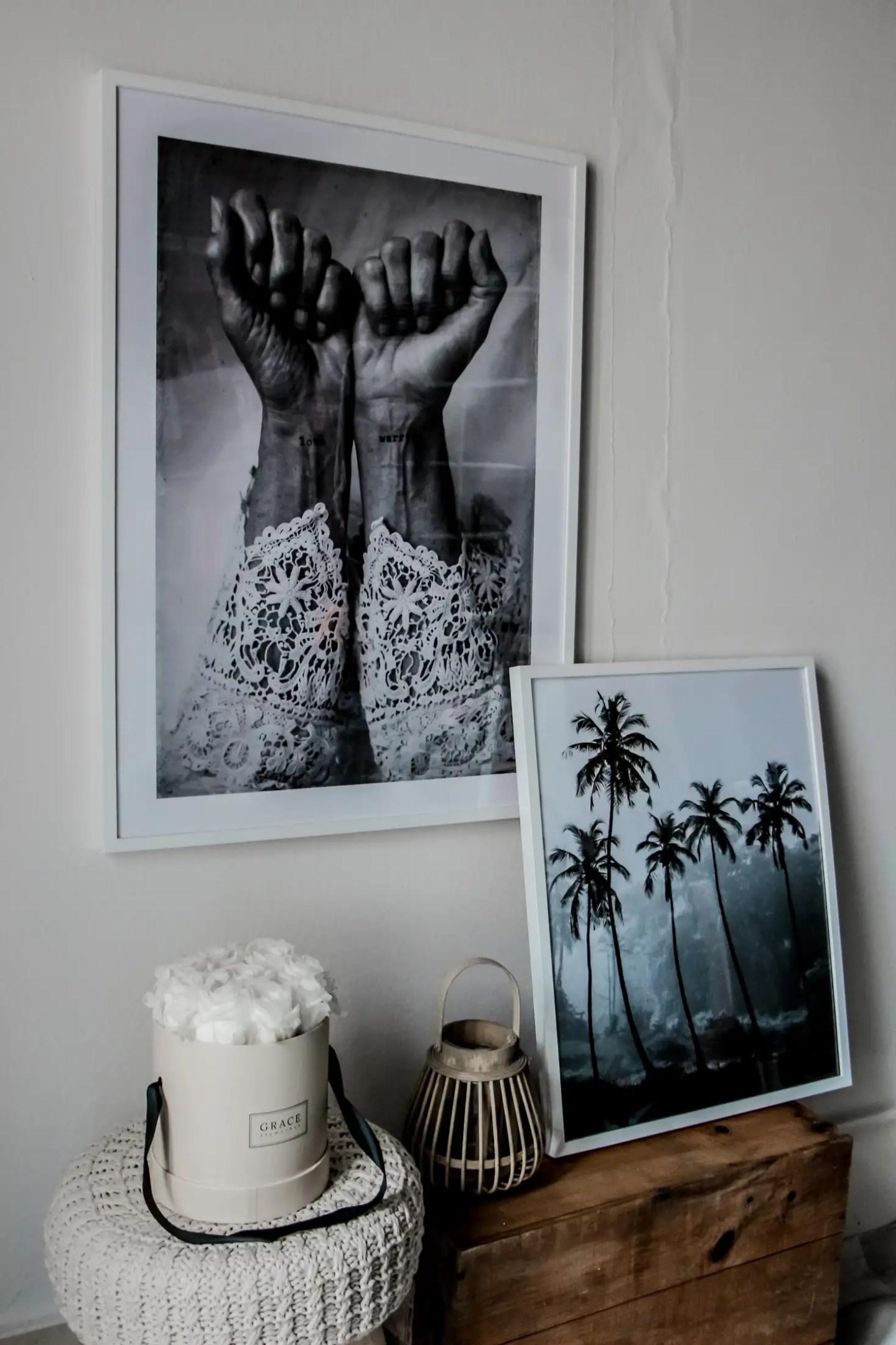 desenio, cadre, posters, posters citations, the g,reen ananas, deco, deco murs, ma décoration murale avec desenio posters & cadres