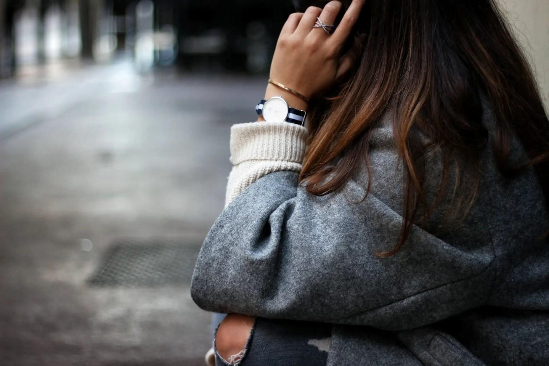 grey, manteau oversize, oversize coat, hm, h&m, manteau h&m, daniel wellington, zara, jean zara, manteau gris, manteau femme, zaful, shein, inspiration gucci, moccassins gucci, the green ananas
