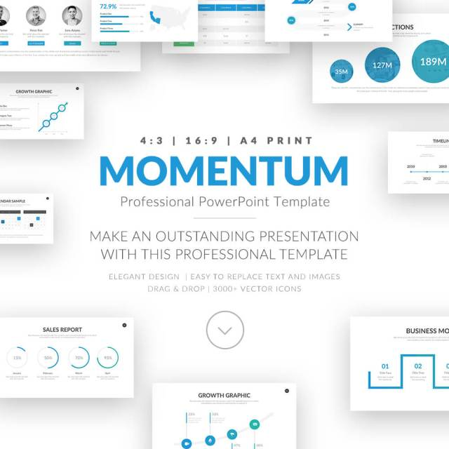 Corporate Overview Powerpoint Template - 3