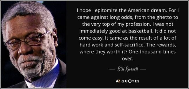 Bill Russell Quote