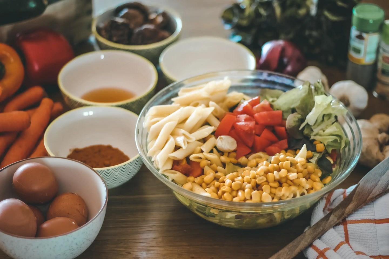blog cuisine, cuisine mediteranéenne, cuisine legumes, curcuma, cuisine santé, the green ananas, gingembre, recette salade, salade santé